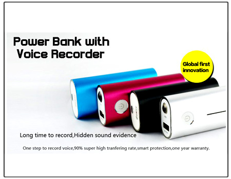 Spy Voice Recorder In Power Bank