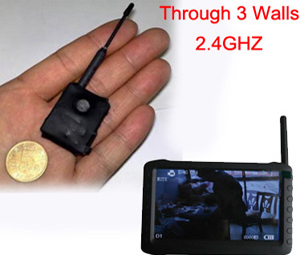 Spy 2.4 MHZ Wireless Camera