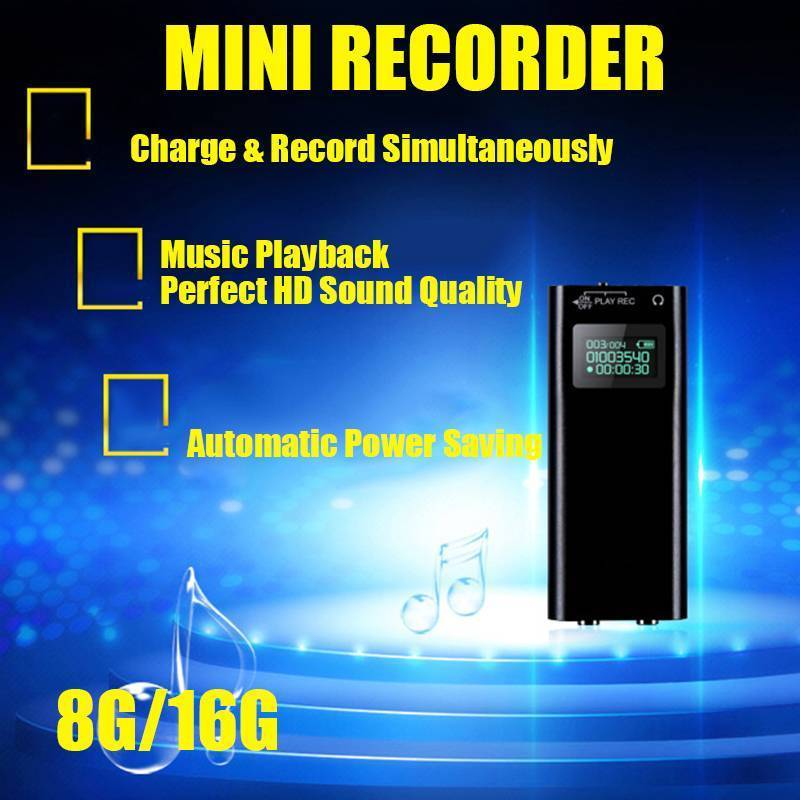 Spy Voice Recorder With Display Latest Product