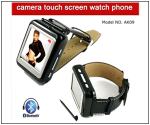 Mobile Watch Bluetooth & Camera