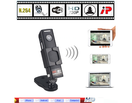 SPY MINI HIDDEN CAM WIFI SPY CAMERA IP HD 720P