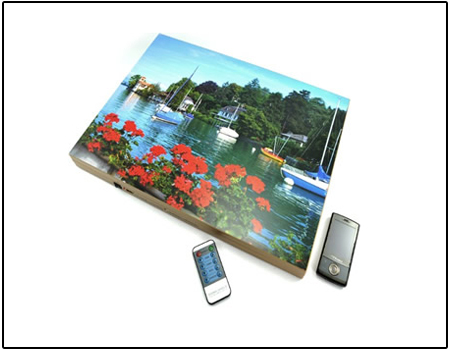 Spy Mobile Phone Jammer In Painting