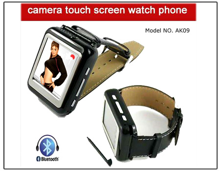 Mobile Watch Phone With Bluetooth And Camera