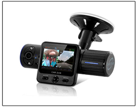 Car Camcorder Dvr With Twistable Night-Vision