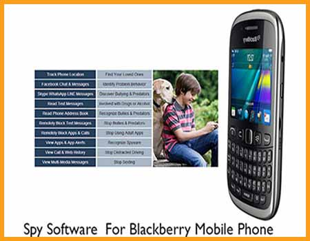 Spy Software For Blackberry Mobile Phones